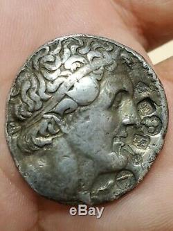 Ancien Silver Coin, Egypte, Ptolémée Et Retour Aigle, Tetradrachm État De Nice