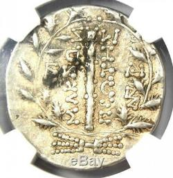 Anciens Celtes Bas Danube Première Meris Ar Tetradrachm Monnaie 100 Av. Ngc Choix Vf