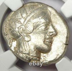 Ancient Athènes Grèce Athéna Owl Tetradrachm Coin (440-404 Av. J.-c.) Ngc Xf (ef)