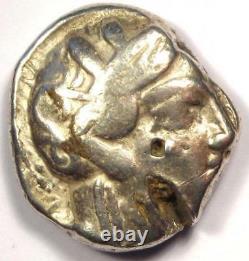 Ancient Athènes Grèce Athena Owl Tetradrachm Coin (454-404 Av. J.-c.)