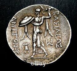 Antigonos II Gonatas. Ca. Superbe Tetradrachm 274 / 1-260 / 55 Bc Greek Silver Coin