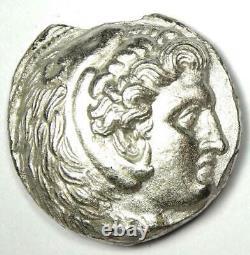 Antigonos I Alexandre Le Grand Ar Tetradrachm Pièce 320-305 Bc Xf Détails