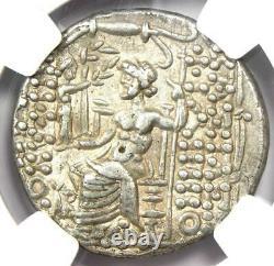 Antioche Romaine Philip I Philadelphus A. Gabinius Ar Tetradrachm 57 Bc Ngc Ch Xf