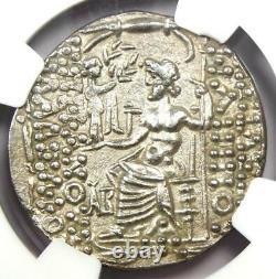 Antioche Romaine Philippe I Philadelphe A. Gabinius Ar Tetradrachm 57 Bc Ngc Au