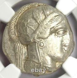Antique Athènes Grèce Athena Owl Tetradrachm Coin (440-404 Av. J.-c.) Ngc Xf (ef)