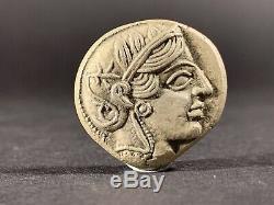 Antique Grec Coin Athenes Owl Attica Argent Tétradrachme Circa. 450 Bc 25 MM 17g