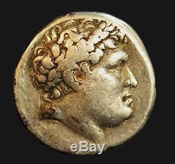 Aphrodite - Tétradrachme Grec Antique En Argent, Royaume De Pergame