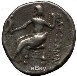 Argent Celtique Ancienne Tetradrachm Coin En Grec Roi Alexandre Le Grand I57630
