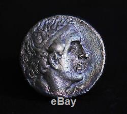 Argent Égyptien Ancien Tétradrachme De Ptolémée II Philadelphe