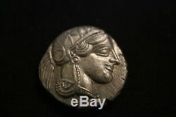 Athena Attique Tetradrachm (monnaie Ancienne Owl)