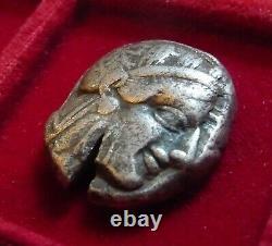 Athènes, Athena Owl Silver Tetradrachm 454-404 Av. J.-c. Athéna Et Hibou