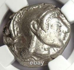Athènes Athena Owl Tetradrachm Coin (510-480 Av. J.-c.) Ngc Choice Vf Early Issue