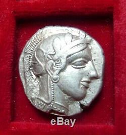 Athènes, Athena Owl Tétradrachme D'argent 454-404 Avant Notre Ère. Athena & Owl