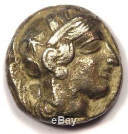 Athènes Grèce Antique Athéna Chouette Tetradrachm Coin (454-404 Bc) Vf (very Fine)