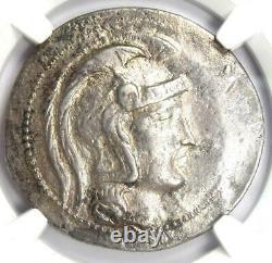 Athènes Grèce Athena Owl Tetradrachm Coin (144 Av. J.-c., Nouveau Style) Certifié Ngc Vf