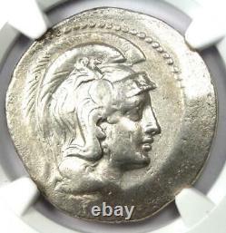 Athènes Grèce Athena Owl Tetradrachm Coin (148 Av. J.-c., Nouveau Style) Ngc Choice Fine