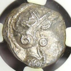 Athènes Grèce Athena Owl Tetradrachm Coin (393-294 Av. J.-c.) Certifié Ngc Choice Au