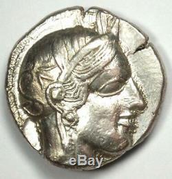 Athènes Grèce Athena Owl Tetradrachm Coin (454-404 Bc) Choix Condition Au