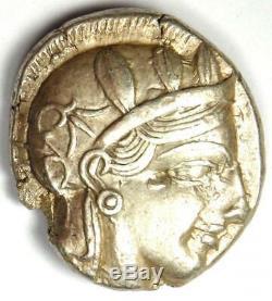 Athènes Grèce Athena Owl Tetradrachm Coin (454-404 Bc) Xf / Au Choix Rare