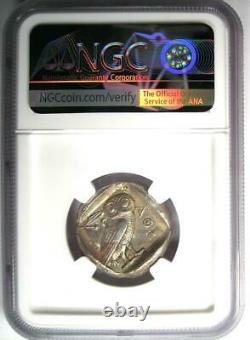 Athènes Grèce Athena Owl Tetradrachm Coin (465-455 Av. J.-c.)
