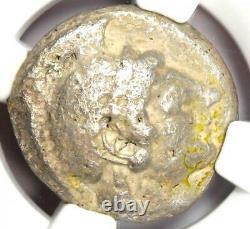 Athènes Grèce Athena Owl Tetradrachm Coin (510-480 Av. J.-c.) Ngc Vf Early Issue
