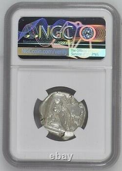 Attica Athènes Ar Tetradrachm Ngc Au 5/5 4/5 C. 440-404 Bc Argent Ancien, Rare