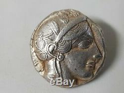 Attica. Athènes. Circa 440s-430s Bc. Tétradrachme