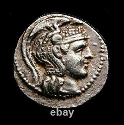 Attica, Athènes. Superbe Tetradrachm Vers 165-42 Av. J.-c. Pièce D'argent Grecque Antique