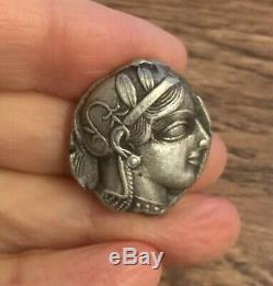 Attique, Athènes (449-413 B. C). Tétradrachme D'argent