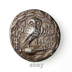 Attique, Athènes Tétradrachme D'argent 165-42bc