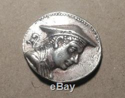 Bactriane Indo-grecs Antimaque I Tétradrachme D'argent 15,8 Grammes C. 174-165 Bce