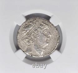 C'est Ça. 95/4-76/5 Bc Seleukid Royaume Philip I Philadelphos Ar Tetradrachm Ngc Vf