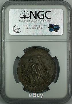 Celtes, Bas-danube 2ème-1er Cent. Bc, Tétradrachme D'argent, Ngc Au Antique