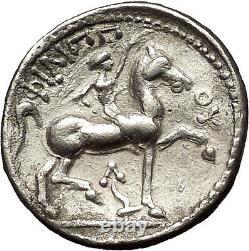 Celtic Eastern Europe Silver Tetradrachm: Grec Philip II Macedon Coin I54001