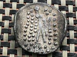 Dunabe, Celtique Imitation Ar Tetradrachm De Thasos, Thrace Après 148 Bc. Rare
