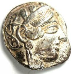 Egypte / Proche-orient Athena Owl Tetradrachm Coin (454-404 Av. J.-c.) Choix Vf / Xf