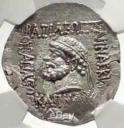 Elymais Roi Kamnaskires V 54bc Authentique Ancien Tetradrachm Monnaie Ngc Ms I69802