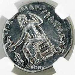 Gem Coin Alexandre III 336-323 Av. J.-c. Héraclès Macedon Ar Tetradrachm Au 5/5 3/5