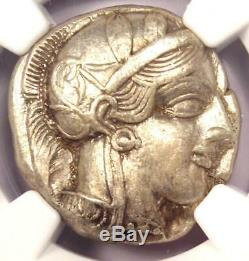 Grèce Antique Athènes Athena Owl Tetradrachm Coin (440-404 Bc) Xf Choix Ngc