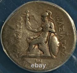 Grèce / Thrace Lysimachos == Tétradrachme Ar == 288-281 B. C. Anacs Vf30 =