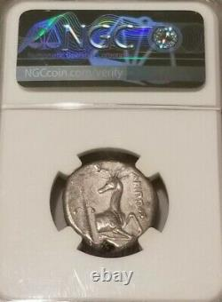Ionia, Ephesus Bee Tetradrachm 4th Century Bc Ngc Fine Ancient Silver Coin