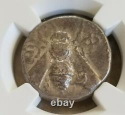 Ionia, Ephesus Tetradrachm Bee Coin Ngc Vf Pièce D'argent Antique