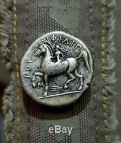 Kings De Macedon. Philippe Ii. 359-336 Avant Notre Ère. Ar Tétradrachme D'argent