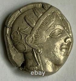Lot 310 Attica, Athènes Ar Tetradrachm. Vers 454-404 Av. J.-c. Un