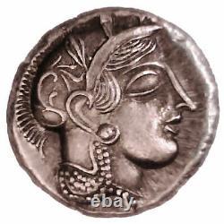 Lot De 20 Pièces Grecques Grèce Attica Athènes Tetramrachm Plaque D'argent Hibou Athena