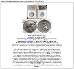 Lysimachos Pièce De Monnaie Grecque Antique En Tétradrachme En Argent Alexandre Le Grand Ngc I68281