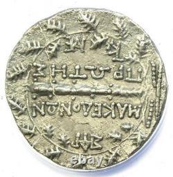 Macédoine Sous Rome Ar Tetradrahm Pièce 158-150 Av. J.-c. Anacs Xf45 (ef45)