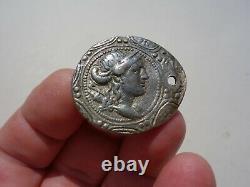 Macédoine Tétradrachme D'argent, Sous Roman Protectorat, Menthe Amphipolis, 150 B. C
