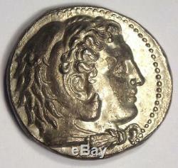 Macedon Philippe III Ar Tetradrachm Coin 323-317 Bc De Sharp Condition Au