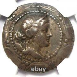 Macedon Sous Rome Premier Meris Ar Tetrachm Argent Pièce 167-148 Bc Ngc Amende